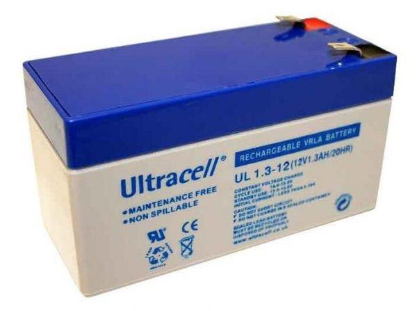 Maitinimo šaltiniai Akumuliatorius Ultracell UL1.3-12
