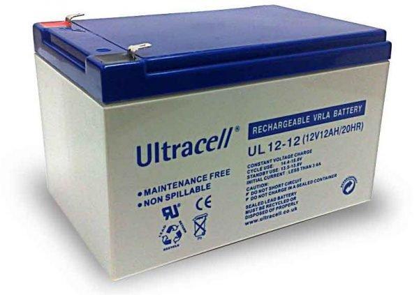 Maitinimo šaltiniai Akumuliatorius Ultracell UL12-12