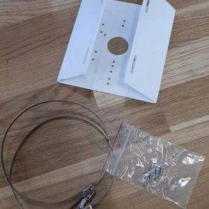 Kronšteinai Hikvision kronšteinas DS-1280ZJ-S (juodas)