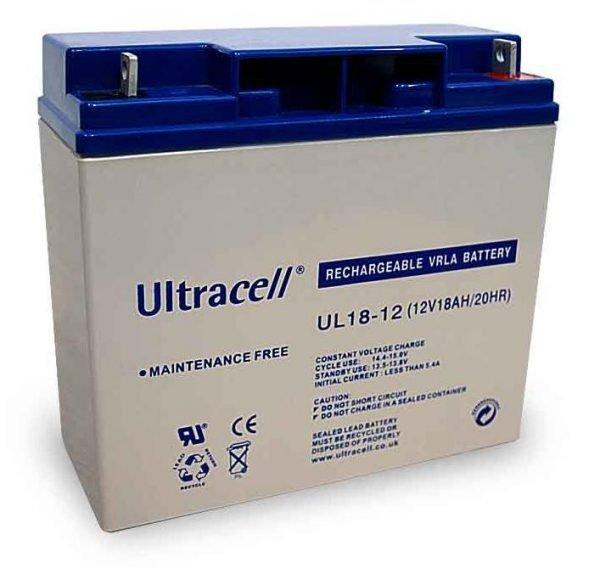 Maitinimo šaltiniai Akumuliatorius Ultracell UL18-12
