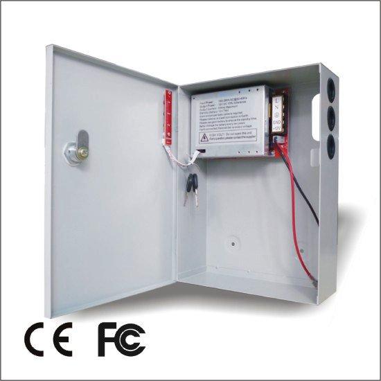 Maitinimo šaltiniai Maitinimo šaltinis 5A/12V (su baterijos krovimu)