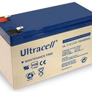 Maitinimo šaltiniai Akumuliatorius Ultracell UL7-12F2