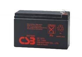 Maitinimo šaltiniai Akumuliatorius CSB 7.2Ah 12V