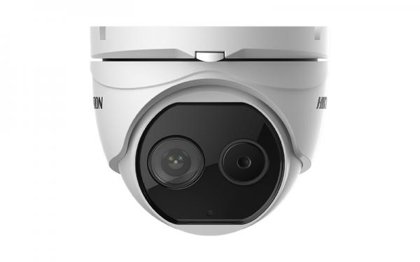 Kameros Hikvision dome termovizorinė DS-2TD1217-6/V1