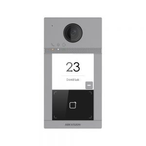Iškvietimo moduliai Veidų atpažinimo terminalas Hikvision DS-K1T607MW