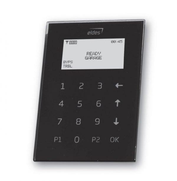 Klaviatūros ELDES klaviatūra EKB2 (juoda)