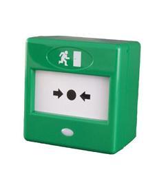 Dūmų jutikliai Pavojaus mygtukas CQR FP3 (žalias)