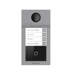 Iškvietimo moduliai Hikvision DS-KV6113-WPE1