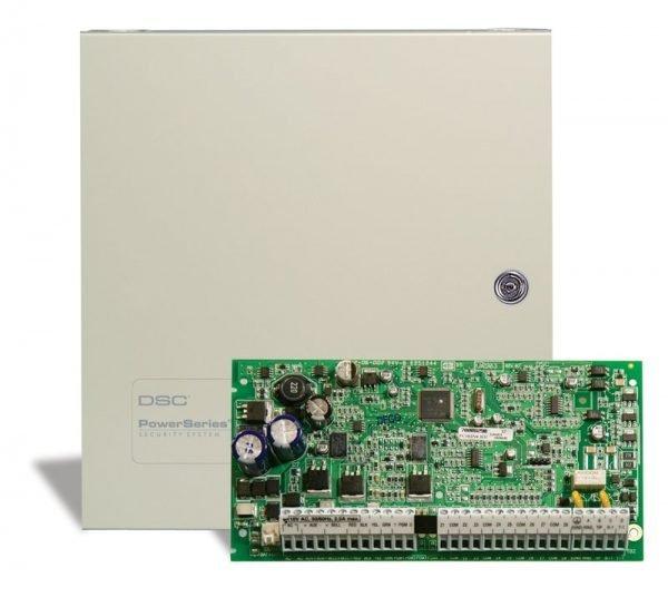 Komplektai DSC PC1832E2 ir PK5516 apsaugos sistemos komplektas su korpusu