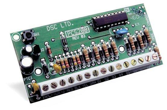 Išplėtimo moduliai DSC Programmable Output Module PC5208