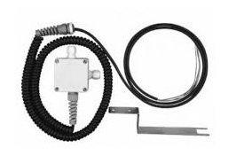 Magnetiniai kontaktai Spiralinis kabelis durelių magnetui vartuose pajungti