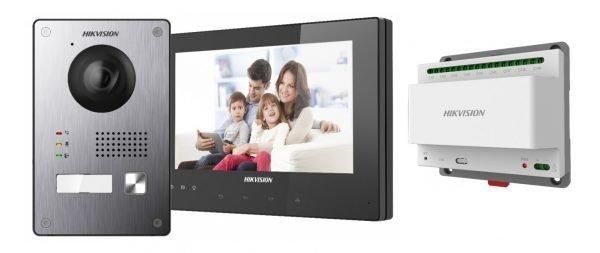 Komplektai Hikvision telefonspynės komplektas DS-KIS701