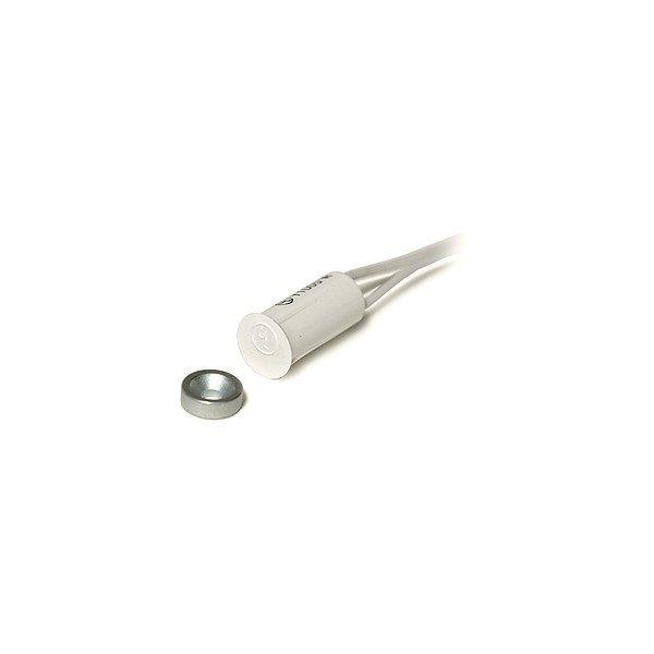 Magnetiniai kontaktai 3/8″ Įleidžiami magnetiniai kontaktai su prisukamu magnetu (balti)