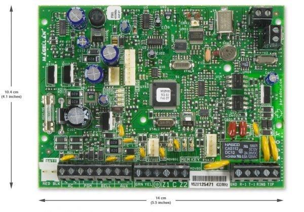 Centralės PARADOX Magelan MG5000 (433 MHz)