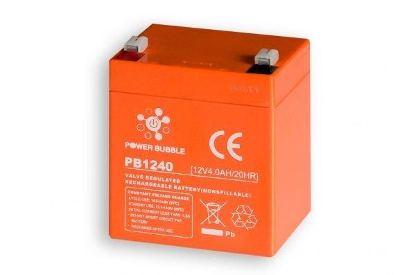 Maitinimo šaltiniai Akumuliatorius POWER BUBBLE 4Ah 12V