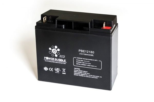 Maitinimo šaltiniai Akumuliatorius POWER BUBBLE E 18Ah 12V