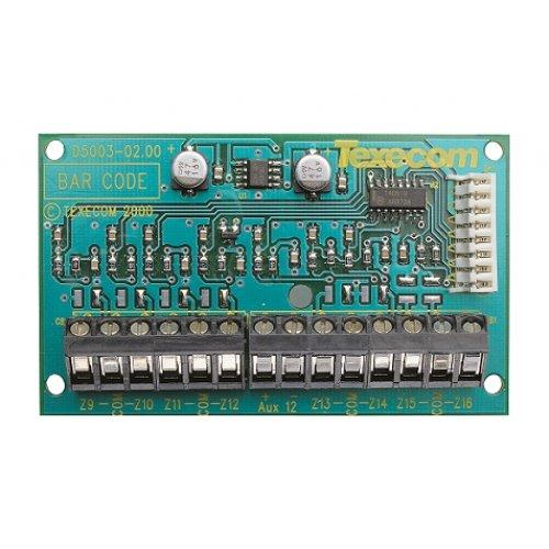 Išplėtimo moduliai Texecom vidinis išplėtimo modulis 8XE
