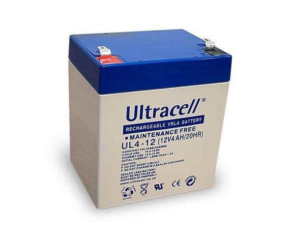 Maitinimo šaltiniai Akumuliatorius Ultracell UL4-12