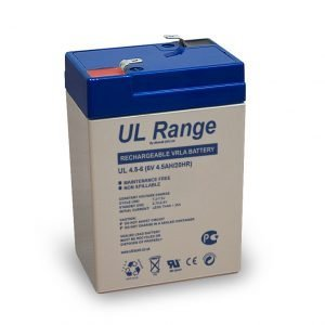 Maitinimo šaltiniai Akumuliatorius Ultracel UL4.5-6 F1