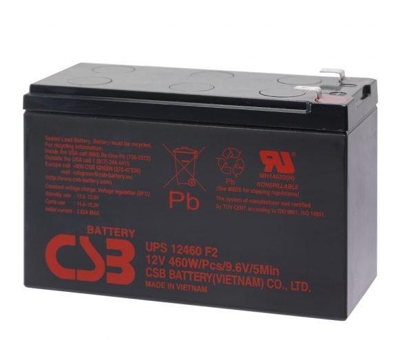 Maitinimo šaltiniai Akumuliatorius CSB 460W 12V