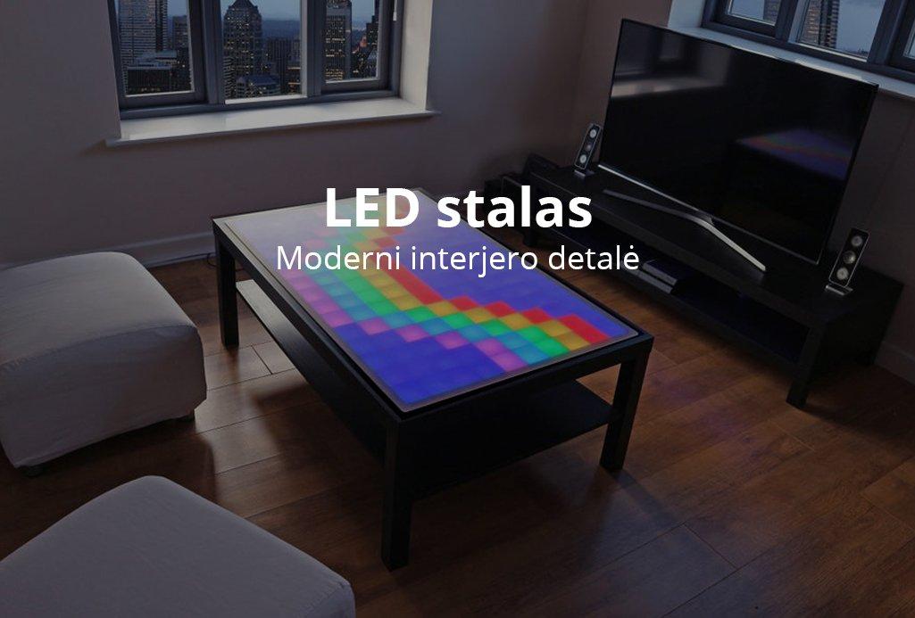 LED stalas home